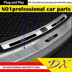 64.40$  Watch here - http://ali8lq.shopchina.info/go.php?t=32810451540 - DXRvs achterbumper guard pedaal For vw tiguan 2017 achterbumper protector sill trunk scuff plaat auto-styling 64.40$ #magazineonlinewebsite