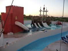 Great Parnassus Water Park, Cancun, Mexico