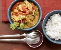 Rezept: Hähnchen-Erdnuss-Curry