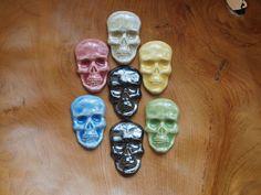 Semi-Precious Stones – Ceramic skull – a unique product by Efraim_jewellery on DaWanda