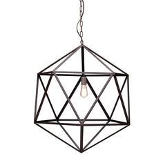 Industrial 31 Steel Aged Patina Ceiling Lamp - ZM Home, Black