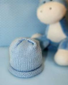122 best free baby patterns to knit or crochet images on pinterest a warm knit cap sized to fit a preemie babys fandeluxe Image collections