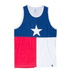 The Texas Flag Tank