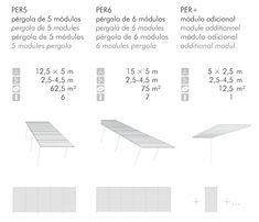 Manufacturer of pergola Havana - modular pergolas URBADIS Sun Shadow, Galvanized Steel, Havana, Sun Shade