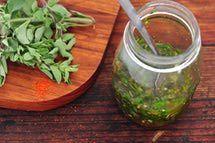 Chimiichurri Sauce - Argentinian Chimichurri Marinade  Go along with Smokey Black Bean and Spinach Wrap