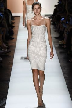 Herve Leger by Max Azria - Spring/Summer 2016 Ready-To-Wear - NYFW (Vogue.co.uk)