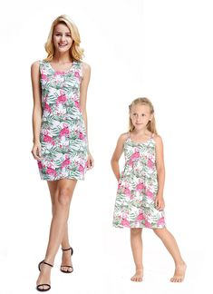 539fac5c71a7 91 Best Matching Mother Daughter Outfit for Luau and Hawaii! images ...