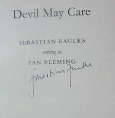 Sebastian Faulks' Signature