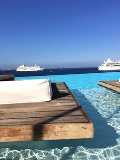 cavo tagoo | mykonos, greece | #onthedftravels #mykonos #greece #pool #view