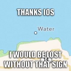 And... Water