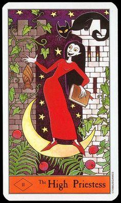Halloween Tarot - High Priestess