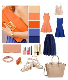 """""""Brights for Summer"""" by stonge-02 on Polyvore featuring See by Chloé, Calypso St. Barth, Chicwish, Christian Dior, Elizabeth and James, Valentino, Yves Saint Laurent and De Buman"""