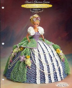 Annies Glorious Gowns Old South Collection / Catherine / Crochet Pattern book 8909