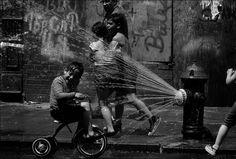 Refreshing trike ride.
