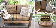 17 Fabulous DIY Outdoor Pallet Furniture Ideas and Tutorials | www.FabArtDIY.com - Part 3
