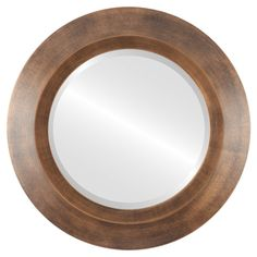 Wall Mirrors With Hooks, Classic Wall Mirrors, Round Wall Mirror, Beveled Mirror, Round Mirrors, Modern Contemporary Bathrooms, Contemporary Wall Mirrors, Mirror Words, Mirrors Wayfair