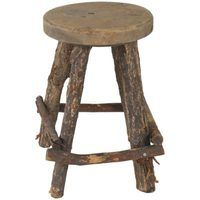 Use rustic furniture and accessories to transform your home into a hideout worthy of Hobbits.