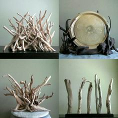 A quick look at our amazing driftwood sculptural line! www.driftingconcepts.com