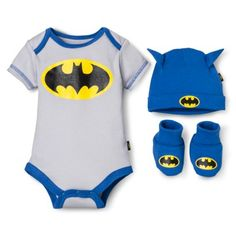 Batman Newborn Boys' 3 Piece Batman Gift Set Blue M - Batman Clothing - Ideas of Batman Clothing - Batman Newborn Boys' 3 Piece Batman Gift Set Blue M Batman Baby Clothes, Baby Batman, Baby Kids Clothes, Batman Clothing, Batman Batman, Baby Boy Fashion, Kids Fashion, Punk Fashion, Batman Gifts