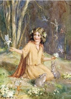 Children's Books & Illustrations / Margaret Tarrant Spring fairy
