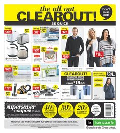 Harris Scarfe Catalogue 26 July - 8 August 2017 - http://olcatalogue.com/hs/harris-scarfe-catalogue.html