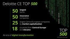 An era of digital transformation  #CETop500 #Deloitte #CentralEurope #CE