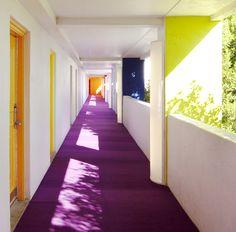 >> saguaro hotel hallway, scottsdale AZ