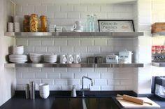 ideetjes voor keuken, minimalistisch, wit (creatief), ordelijk