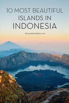 """When you think of Indonesia, most people would probably just """"Bali,"""" but there are SO many more incredible islands to discover (over 17,000, in fact). As hard as it was to round up, here's 10 of the m"""