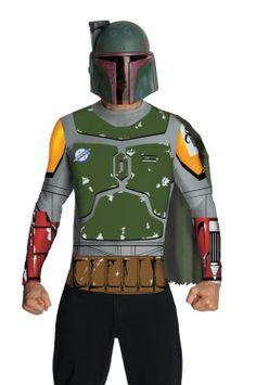 Disfraz Boba Fett, kit. Star Wars Disfraz algo más económico del caza recompensas más importante del universo del Star Wars.