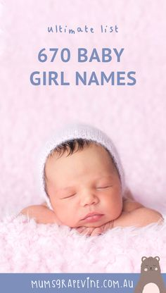 670 girl names you won't find on other baby name lists. 670 girl names you won't find on other baby name lists. Girly Girl Names, Baby Girl Names List, List Of Girls Names, Girls Names Vintage, Baby Girl Names Unique, Cute Baby Names, Boy Names, Classy Baby Girl Names, Simple Girl Names