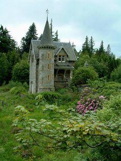 Gatehouse, Ardverikie Estate, Loch Laggan, Scotland.