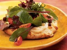 Insalata Pizzas | Meaty portobello mushrooms and rich cheeses make these dishes robust and flavorful.