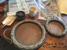 Decor Steals Carved Wooden Round Serving Tray's Got Fab'd!