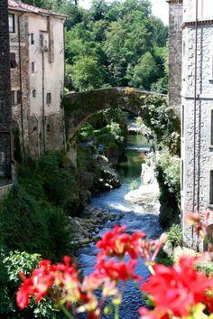 Ponte Vecchio in Bagnone, Tuscany italy Massa e Carrara Tuscany Italy