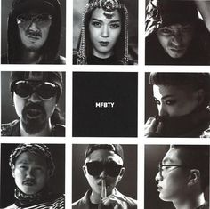 MFBTY with Rap Mon and other artists