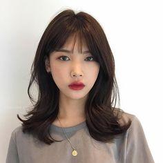 Medium Hair Cuts, Medium Hair Styles, Long Hair Styles, Long Layerd Hair, Midi Hair, Middle Length Haircuts, Haircuts Straight Hair, Shot Hair Styles, Asian Short Hair