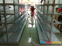 Cung cấp giá kệ siêu thị thương hiệu Việt Nam tại thành phố Đà Lạt. Vinamax chuyên cung cấp giá kệ siêu thị chất lượng tốt nhất