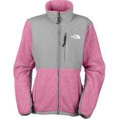 Discount North Face Denali Women Grey Pink Online Shopping