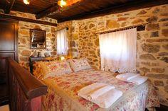Αποτέλεσμα εικόνας για παραδοσιακα σπιτια Valance Curtains, Bed, Furniture, Home Decor, Decoration Home, Stream Bed, Room Decor, Home Furnishings, Beds
