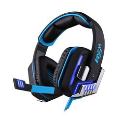 (44.98$)  Know more - http://aikk5.worlditems.win/all/product.php?id=32787975752 - New Lupuss Adjustable 3.5mm Sport Microphone Game Gaming Headphones Headset Low Bass Stereo with Mic Wired for PC Laptop Compute