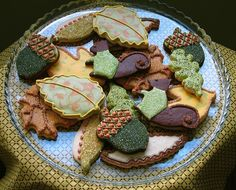Beautiful Fall Cookies