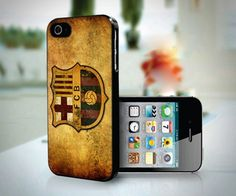 Barcelona Vintage Classic Logo Football design for iPhone 4 or 4s case
