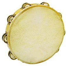 CB Tambourine 10 Inch Double Row Jingles by CB. $16.95. This tambourine incorporates a rugged cowhide head. Top quality jingles with rounded edges compliment this authentic tambourine and provide superb tone.. Save 41%!