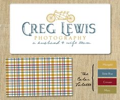 Photography Logo & Branding for Greg Lewis....sarah this is the other team i told you about!