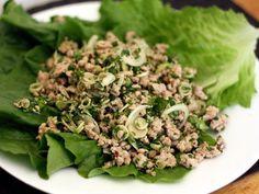 My favorite thai salad w/ ground turkey, chili, lime, and lemongrass!!