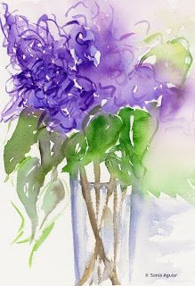 Lilacs are often considered to symbolize love.