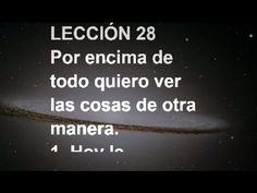 LECCIÓN 28 - Libro de Ejercicios. Un Curso de Milagros  #ACIM #UCDM #UnCursoDeMilagros #ACourseInMiracles #Spanish #Español #Audiolibro https://youtu.be/UKy2o6o_l8o