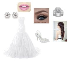 Wedding by monaara on Polyvore featuring Melissa and Fiebiger