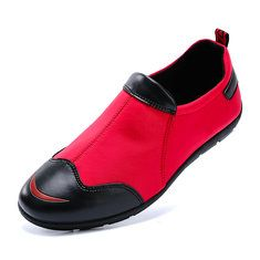 Big Size Handmade Genuine Leather Loafers Stitching Soft Sole Casual Driving Shoes - NewChic Mobile.